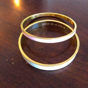 Kate Spade Enamel Bangle Bracelet Set